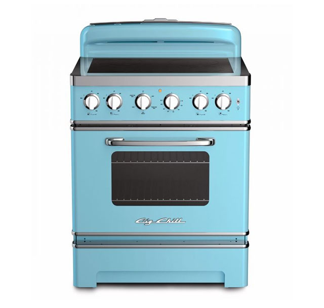 30-inch Retro Electric Induction Range