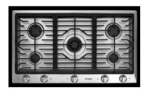 36-Inch Distinctive Dacor Gas Cooktop