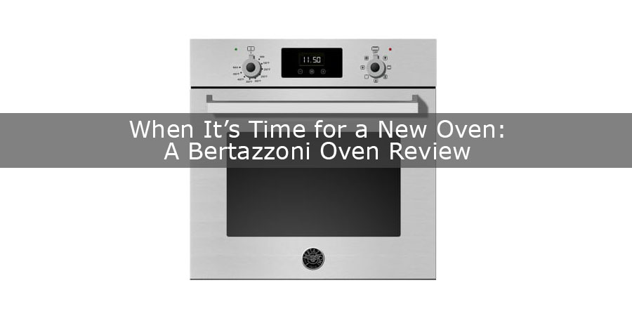 Bertazzoni Professional Series oven