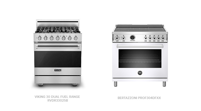 Comparing the Viking Dual Fuel Range with Bertazzoni PROF304DFXX