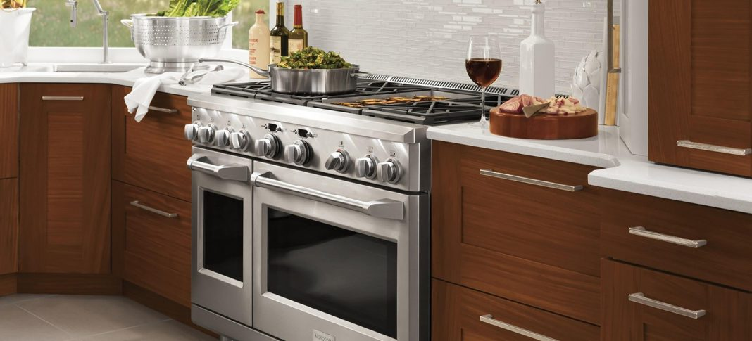 GE Monogram Gas Range Featured image
