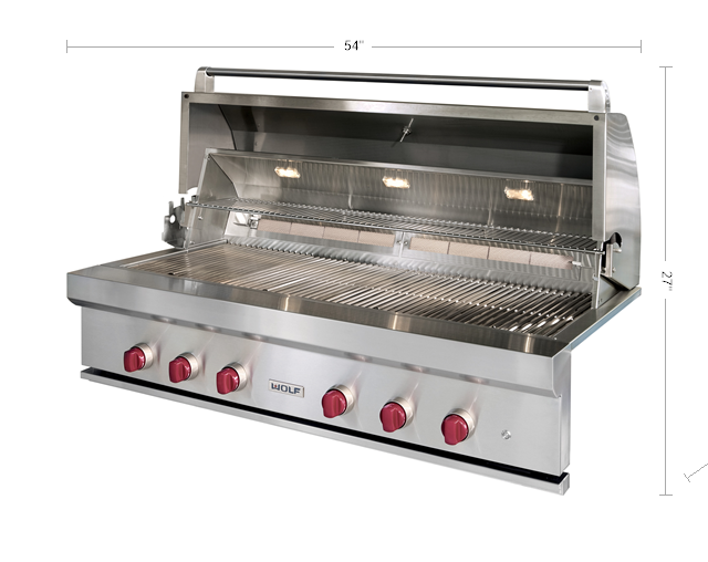 "The 54"" Outdoor Gas Grill"