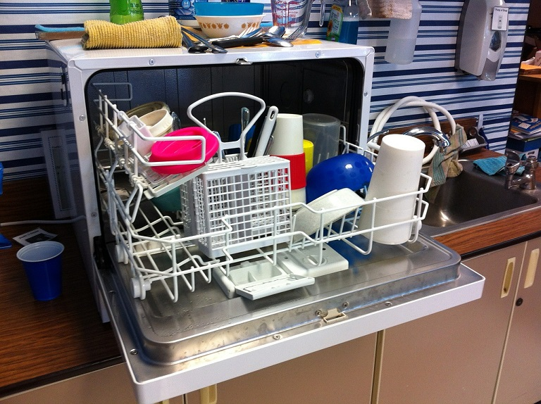 squalid dishwasher