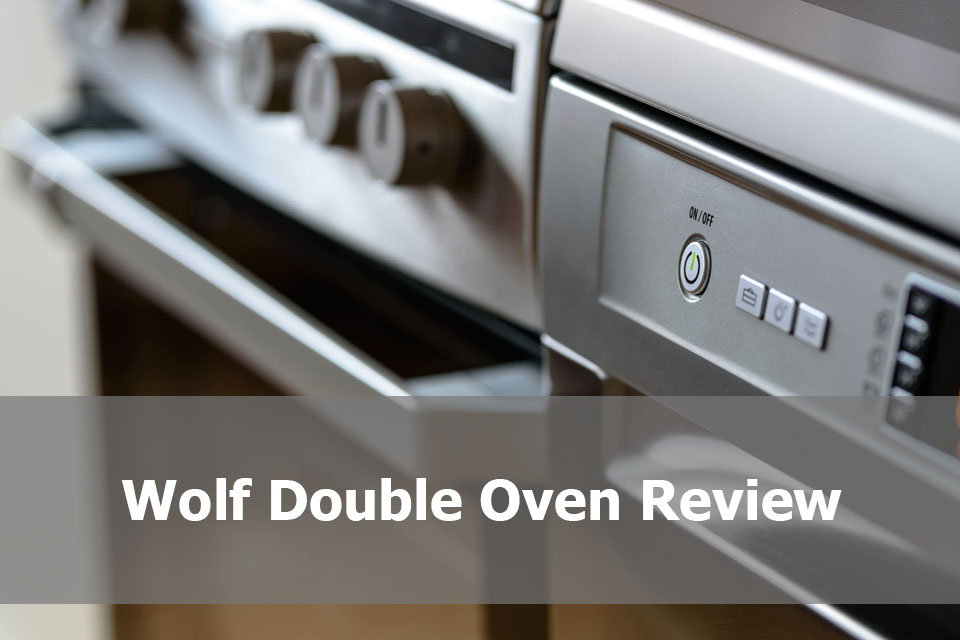 Wolf Double Oven