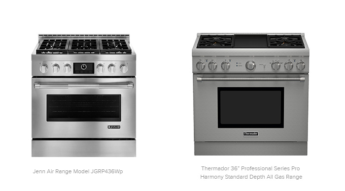 Thermador 36 Professional Series Pro Harmony Standard Depth All Gas Range