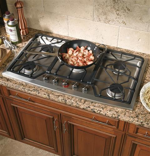 built in cooktop