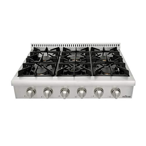 ge monogram 36 inch gas range cook top