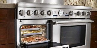thermador pro grand steam range 48 inch professional series pro grand commercial depth dual fuel 1