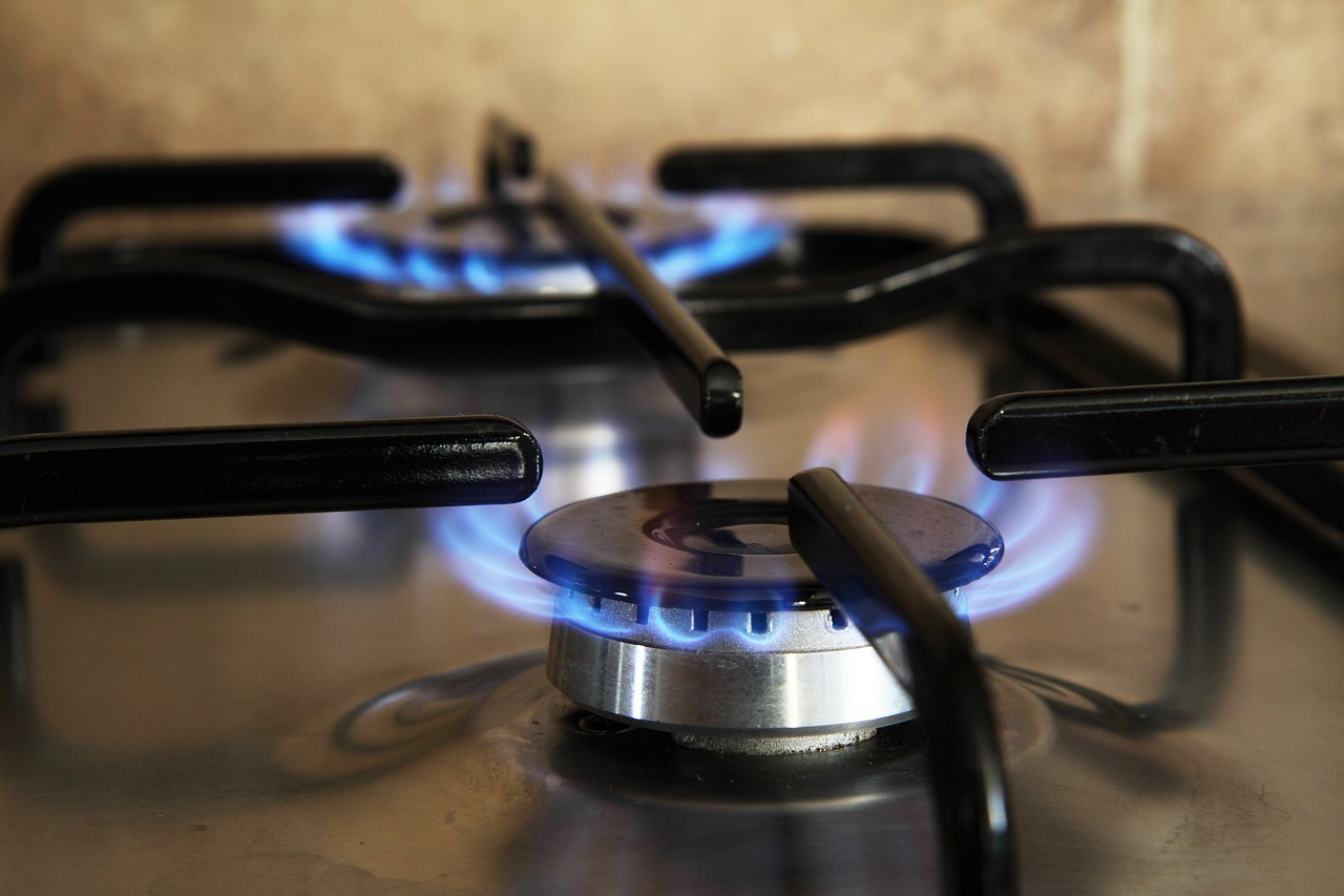 fully functioning gas range